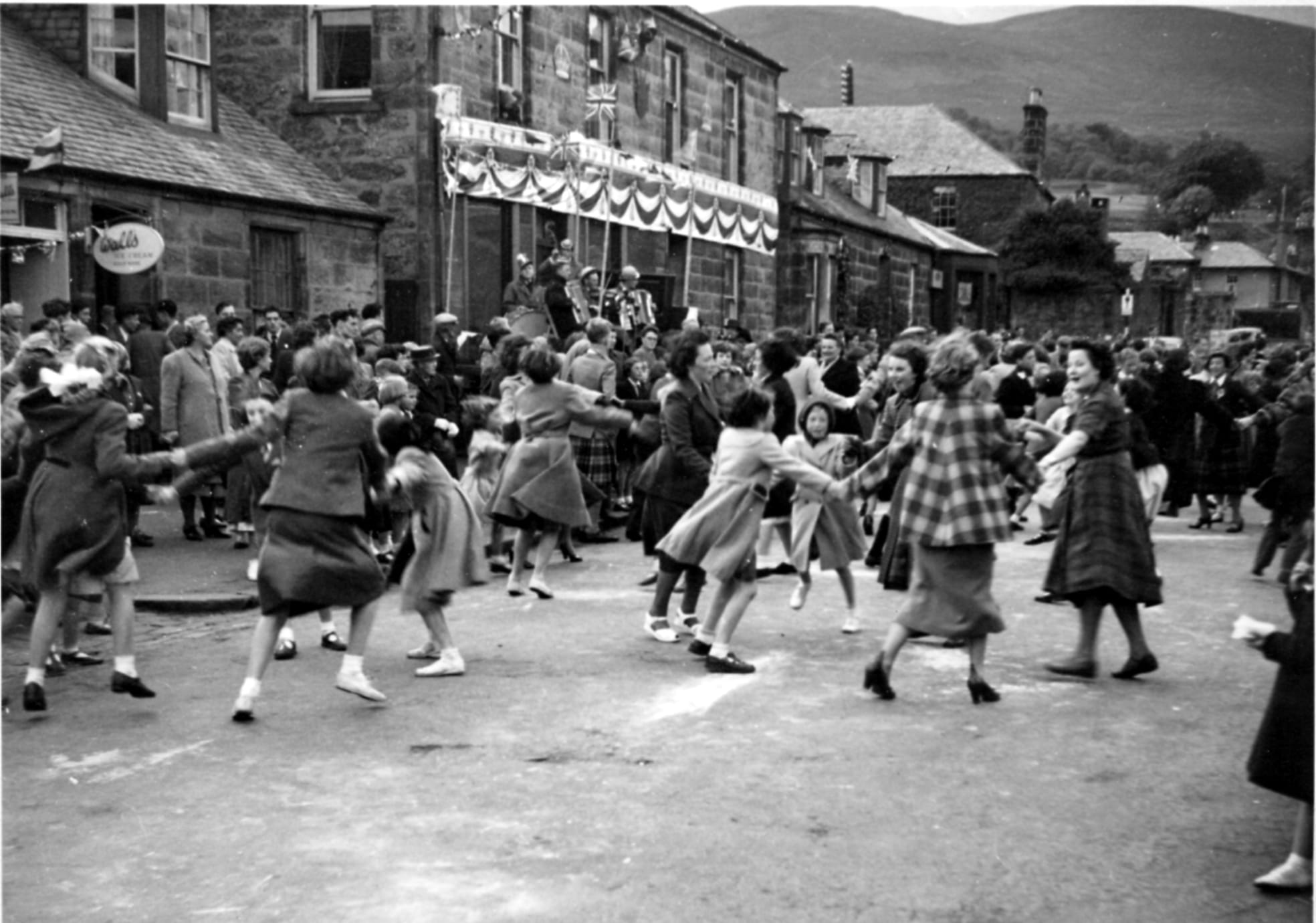 Dancing in Burnside - Coronation 1953