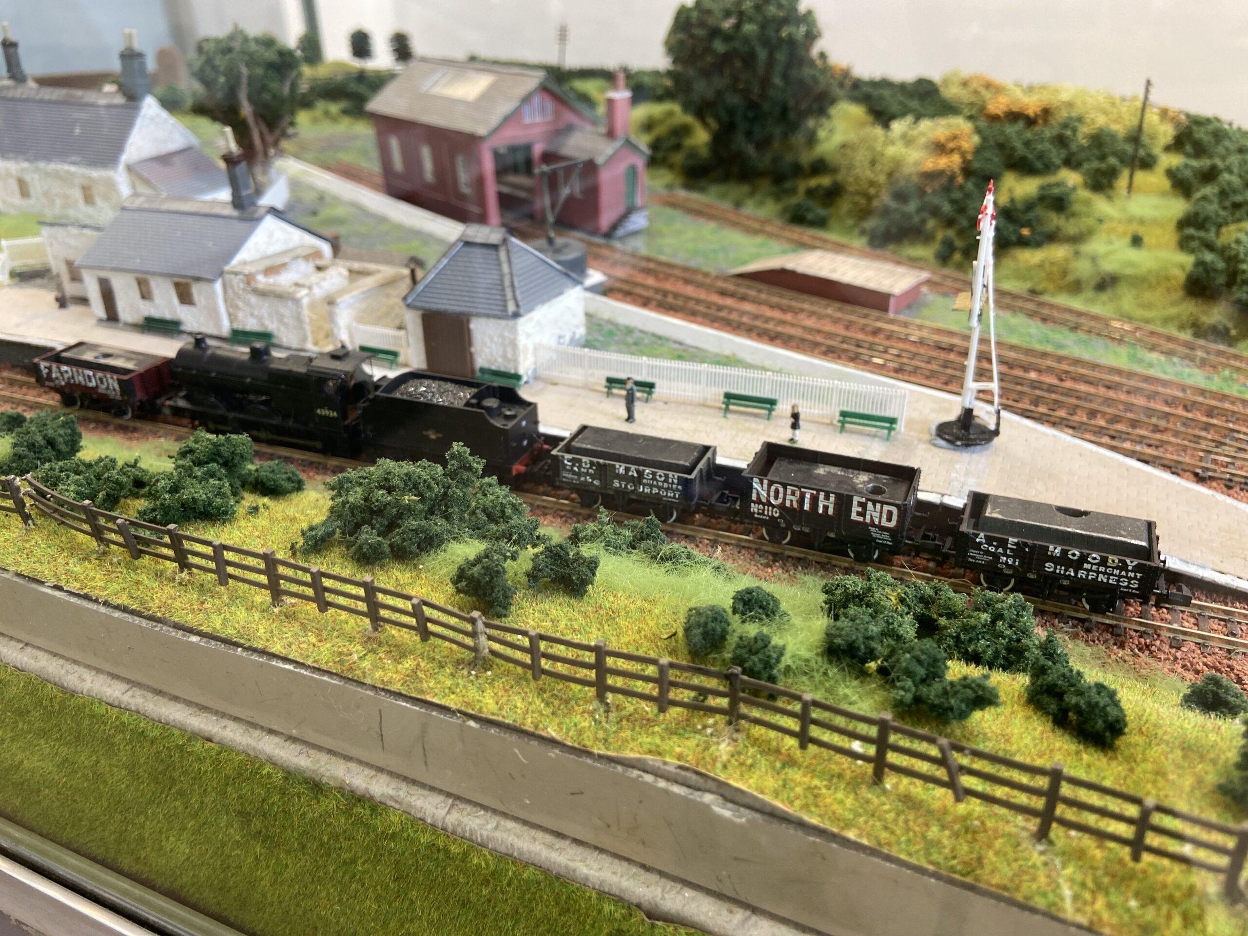 Dollar Railway Station model